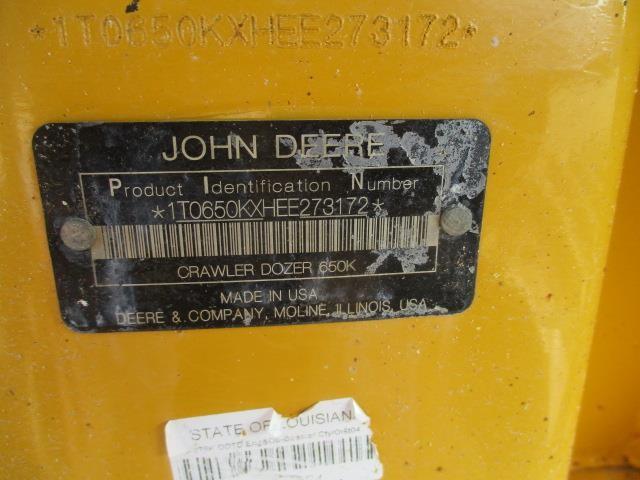 Detail photo of 2016 John Deere 650K from Construction Equipment Guide