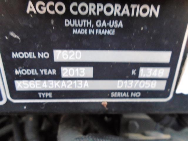 Detail photo of 2013 Massey Ferguson 7620 from Construction Equipment Guide