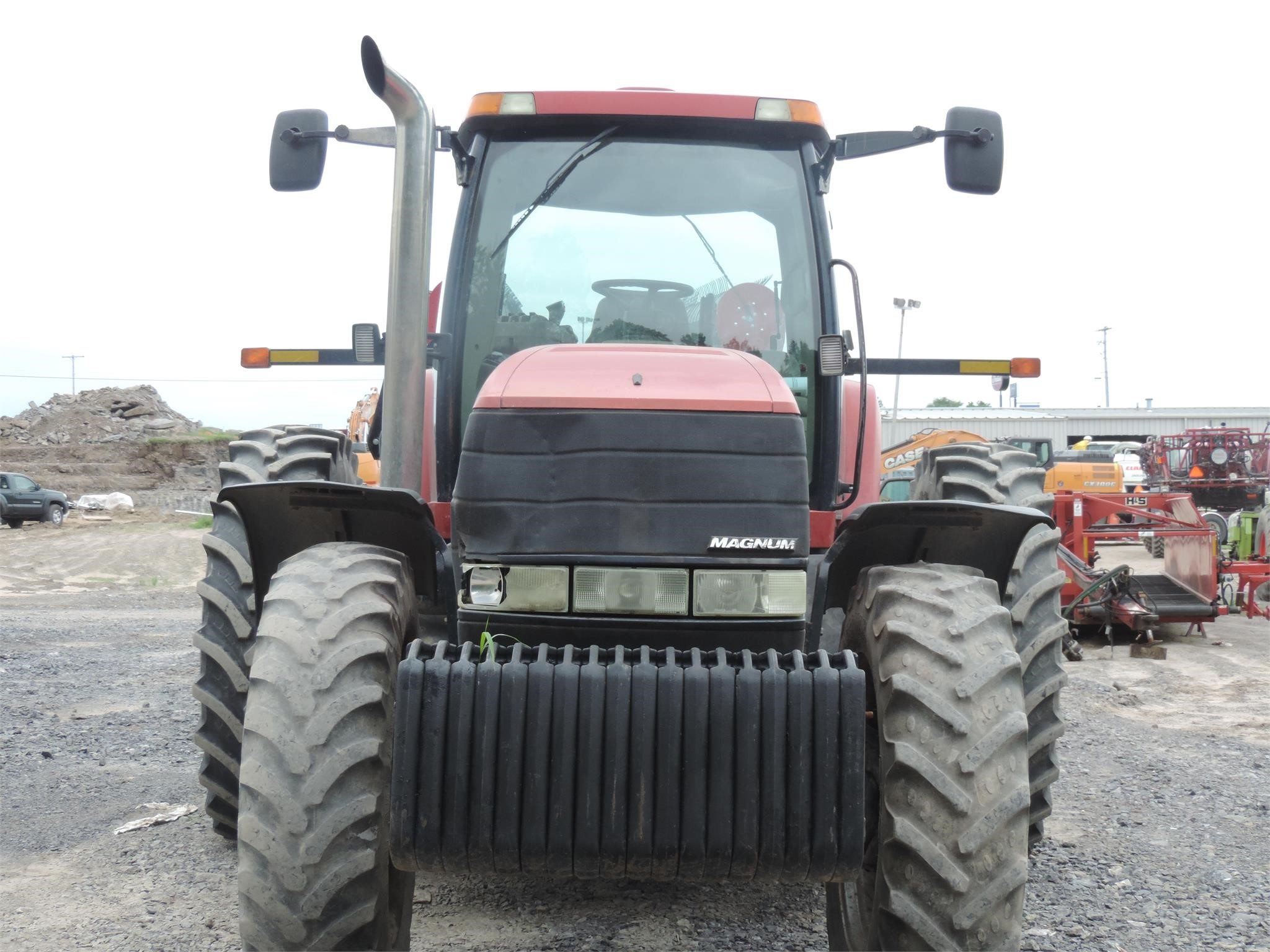 Detail photo of 2005 Case IH MX255 from Construction Equipment Guide