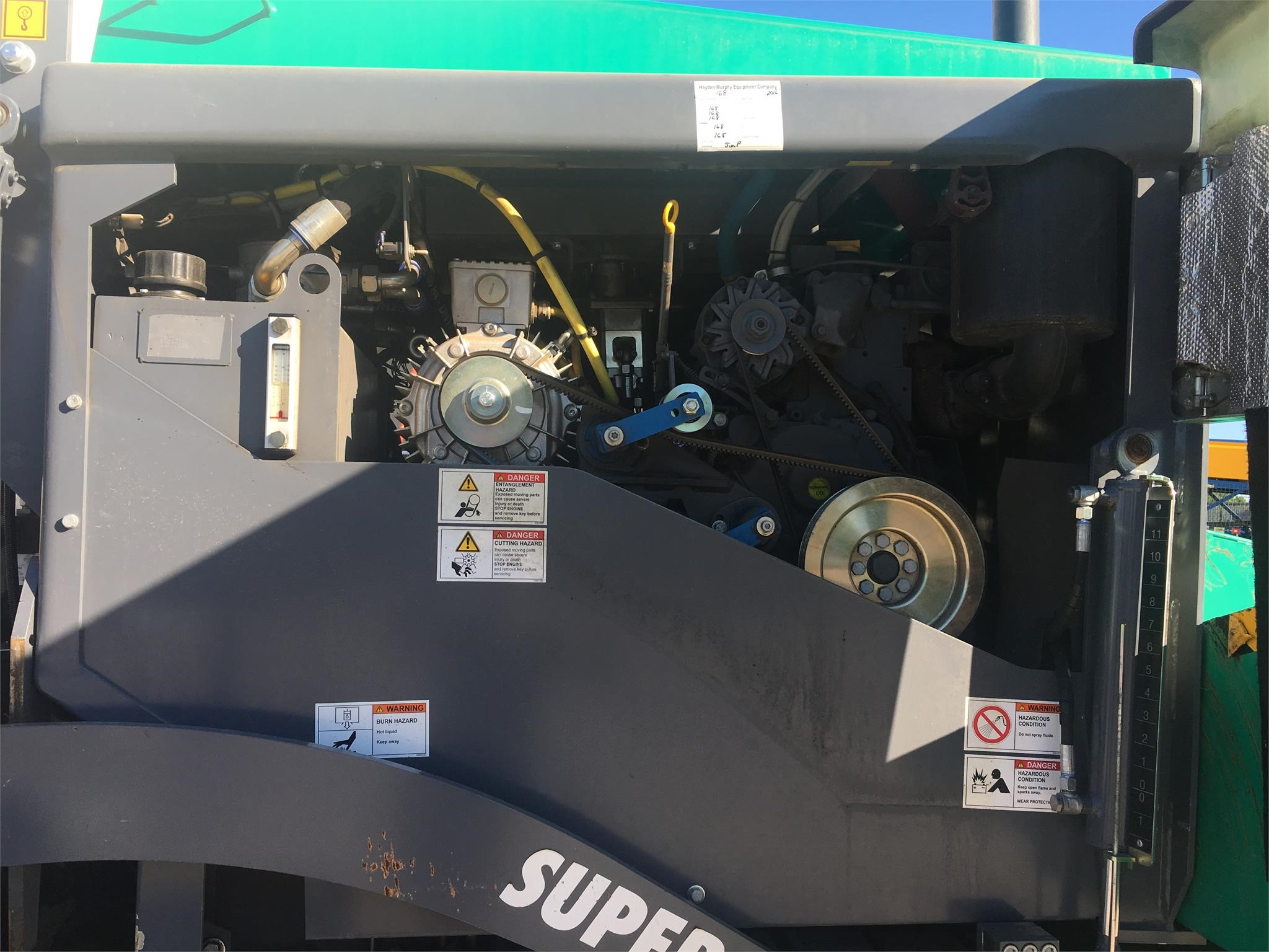 Detail photo of 2015 VÖGELE SUPER 700 from Construction Equipment Guide
