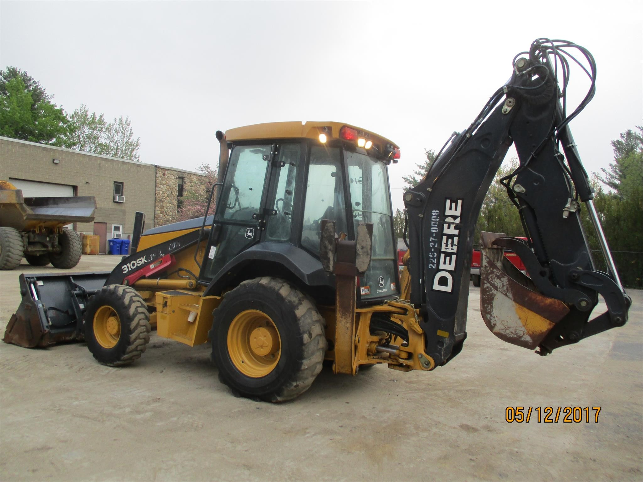 Detail photo of 2012 John Deere 310S from Construction Equipment Guide