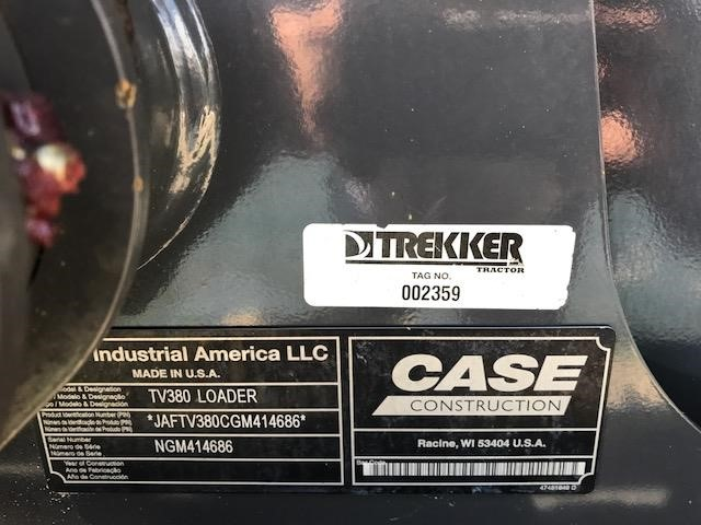 Detail photo of 2016 Case TV380 from Construction Equipment Guide