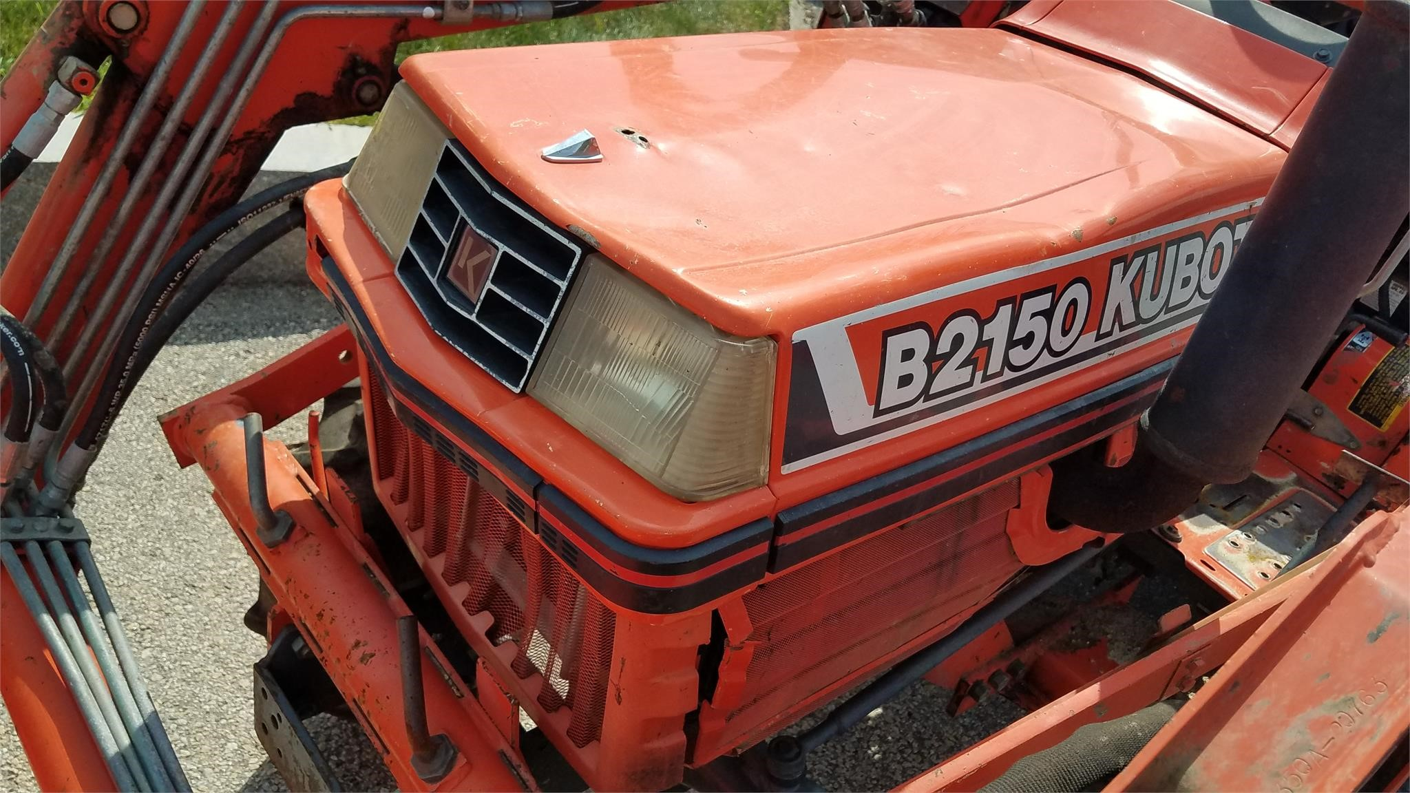 Detail photo of 1994 Kubota B2150HSD from Construction Equipment Guide
