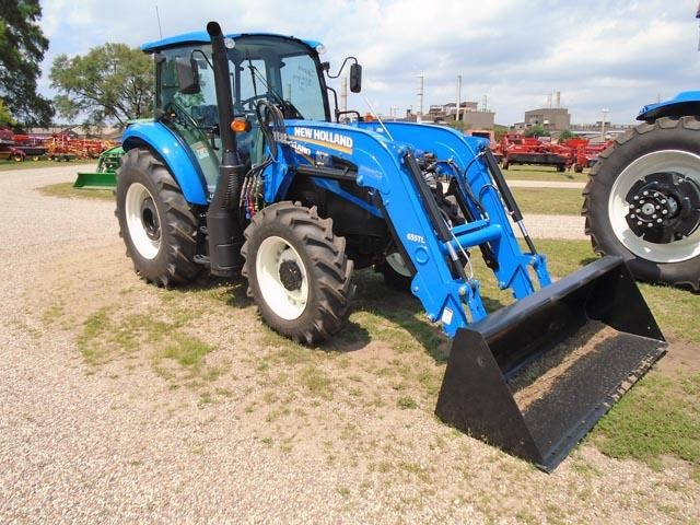 Detail photo of 2017 New Holland T4.110 from Construction Equipment Guide