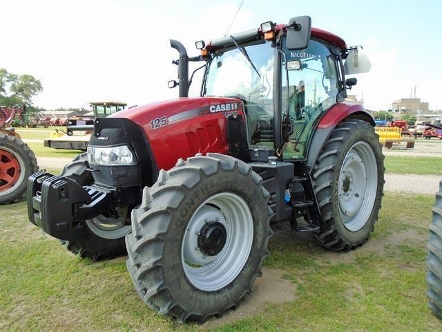 Detail photo of 2014 Case IH MAXXUM EP 125 from Construction Equipment Guide