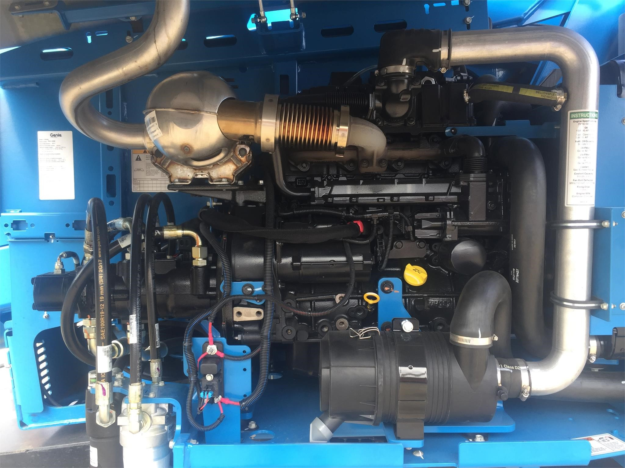 Detail photo of 2017 Genie Z62/40 from Construction Equipment Guide