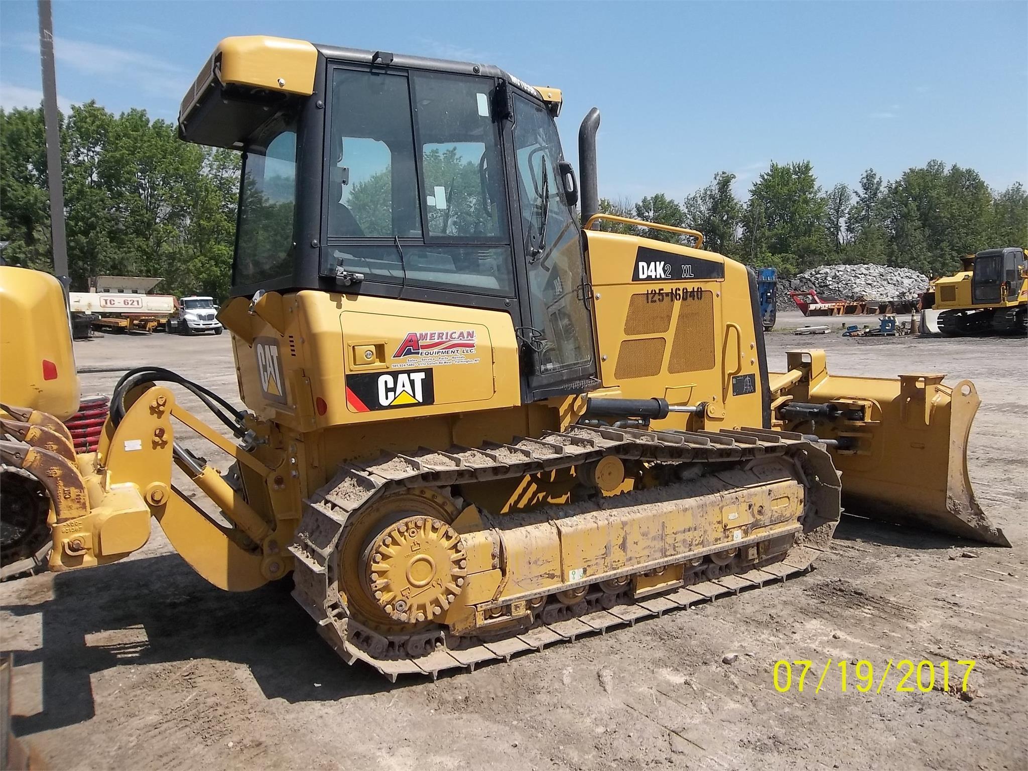 Detail photo of 2013 Caterpillar D4K XL II from Construction Equipment Guide