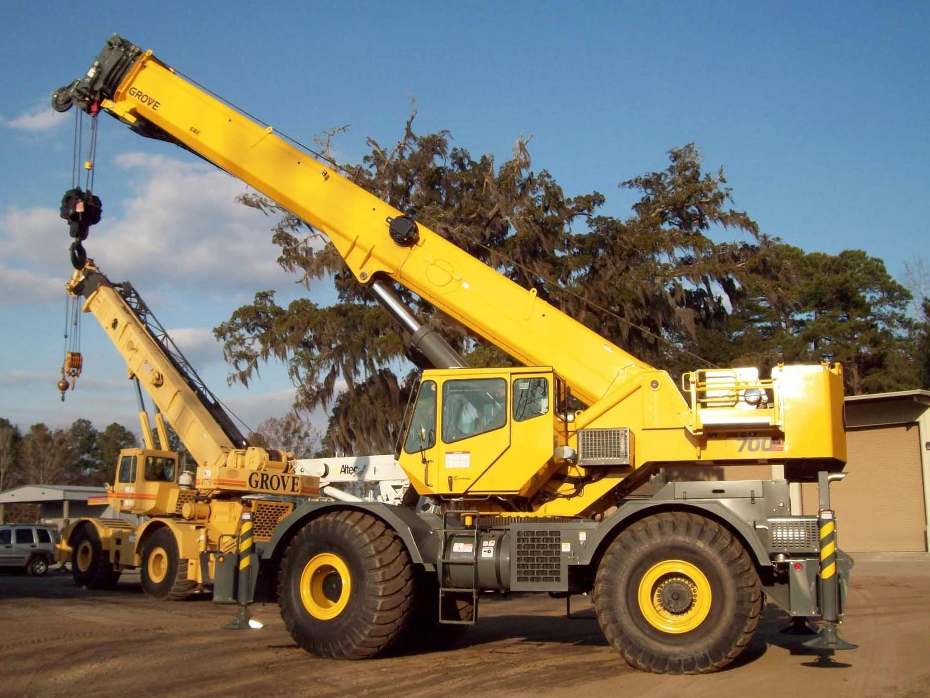 Detail photo of 2007 Grove RT760E from Construction Equipment Guide
