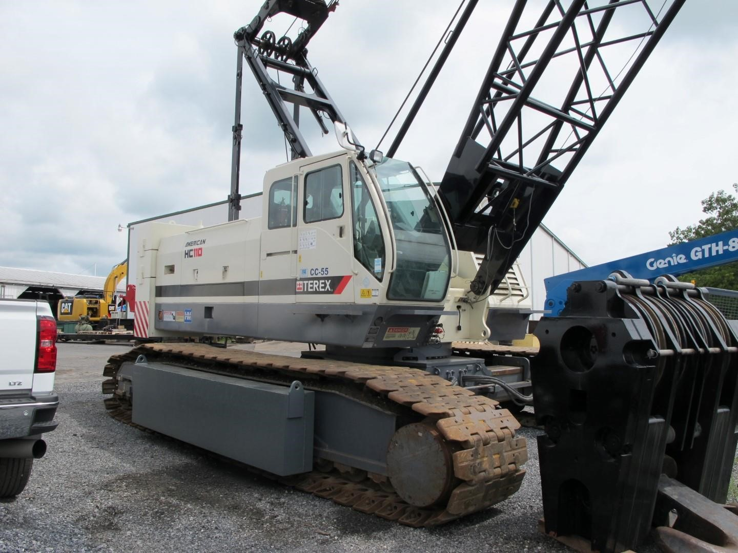 Detail photo of 2010 Terex HC 110 from Construction Equipment Guide