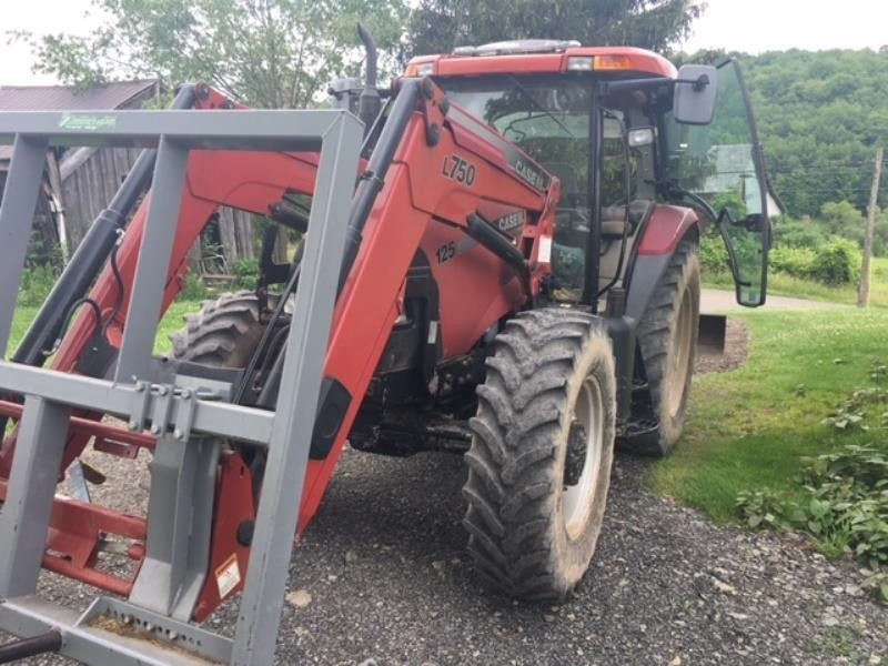 Detail photo of 2008 Case IH MAXXUM 125 PRO from Construction Equipment Guide