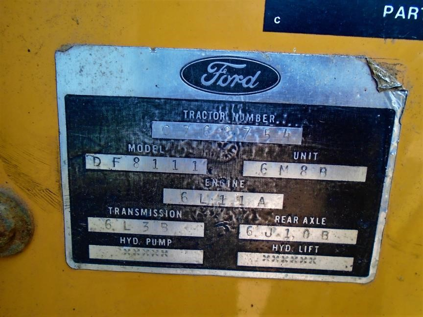 Detail photo of 1987 Ford 555B from Construction Equipment Guide