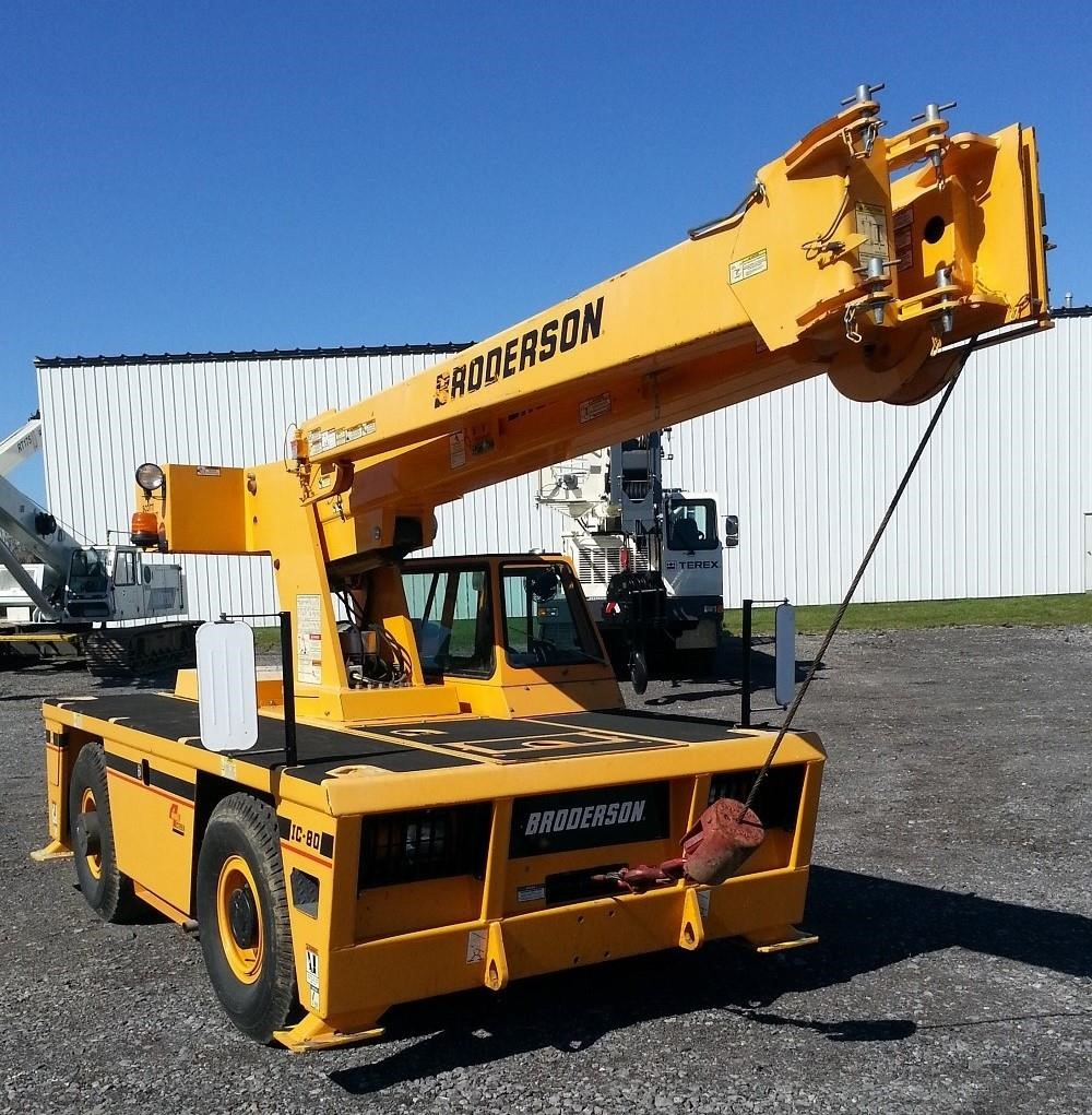 Detail photo of 2013 Broderson IC80-3J from Construction Equipment Guide