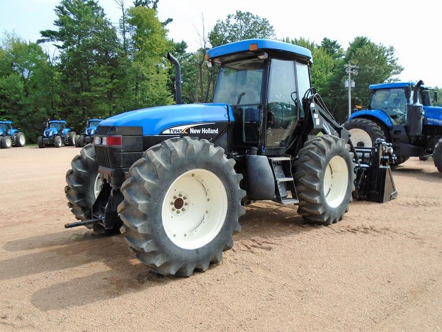 Detail photo of 2006 New Holland TV145 from Construction Equipment Guide