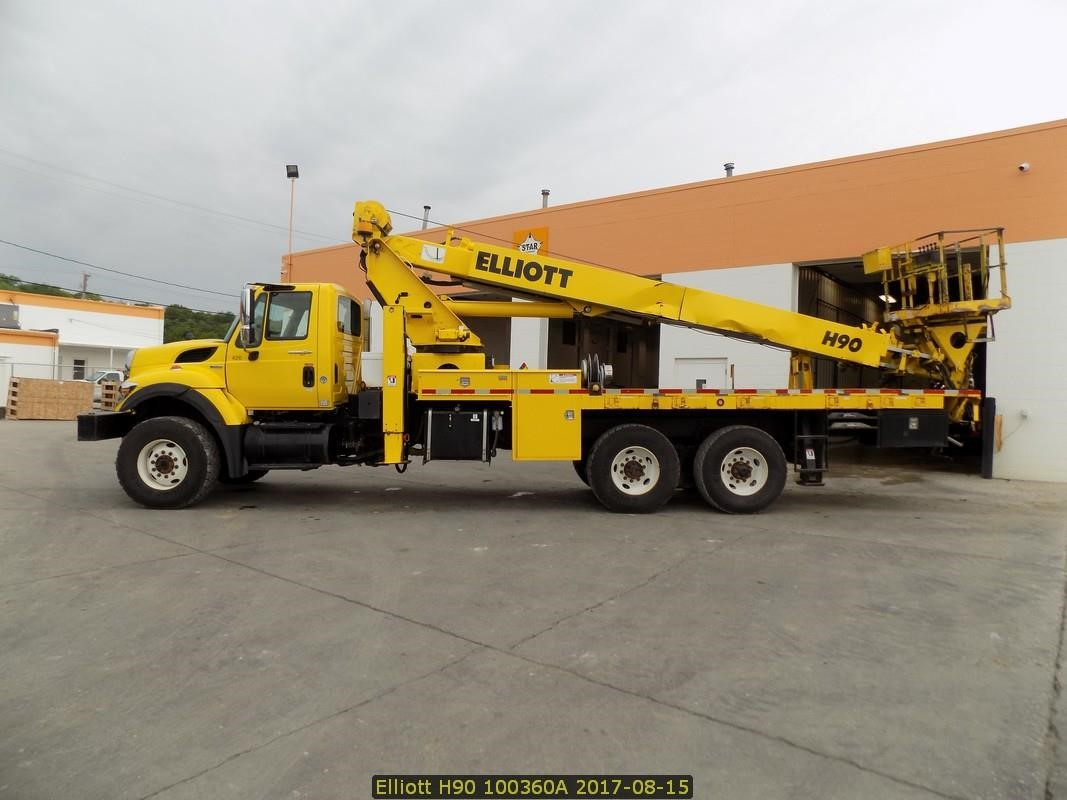 Detail photo of 2008 Elliott H90F from Construction Equipment Guide