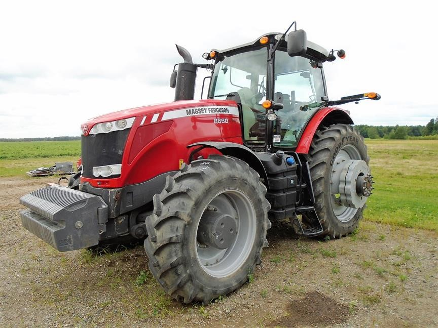 Detail photo of 2013 Massey Ferguson 8660 from Construction Equipment Guide