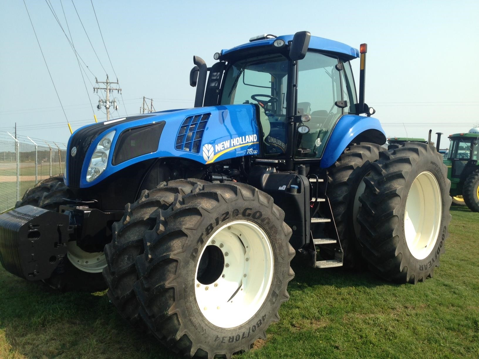 Detail photo of 2013 New Holland T8.330 from Construction Equipment Guide