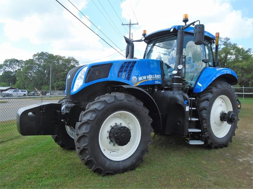 Detail photo of 2017 New Holland T8.380 from Construction Equipment Guide