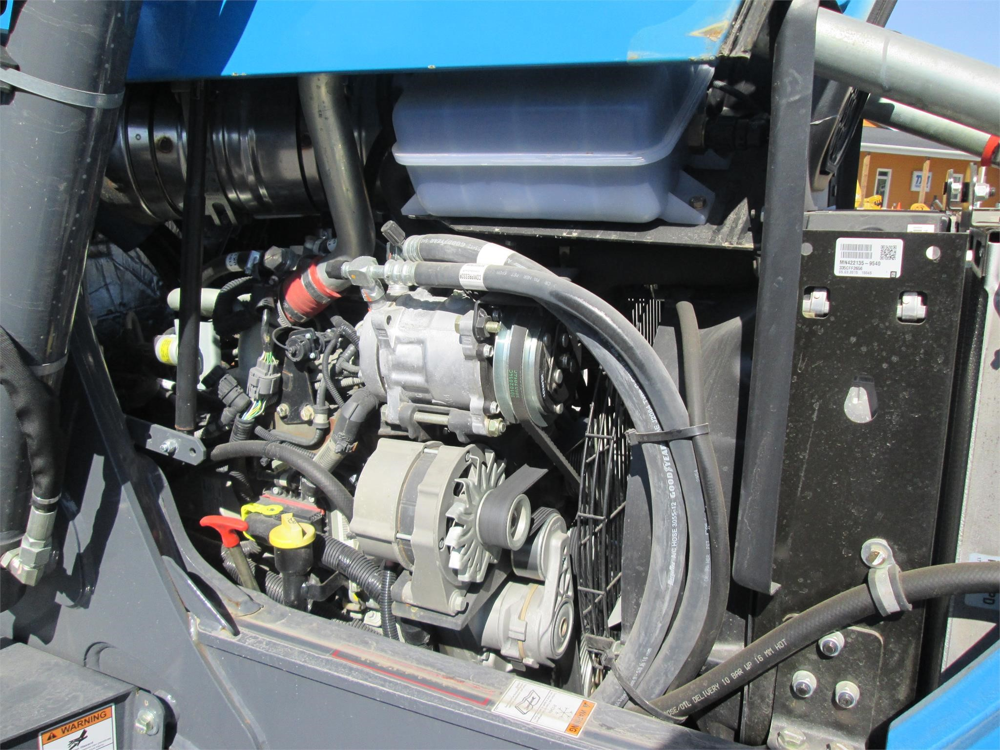 Detail photo of 2016 Terex TLB840R from Construction Equipment Guide