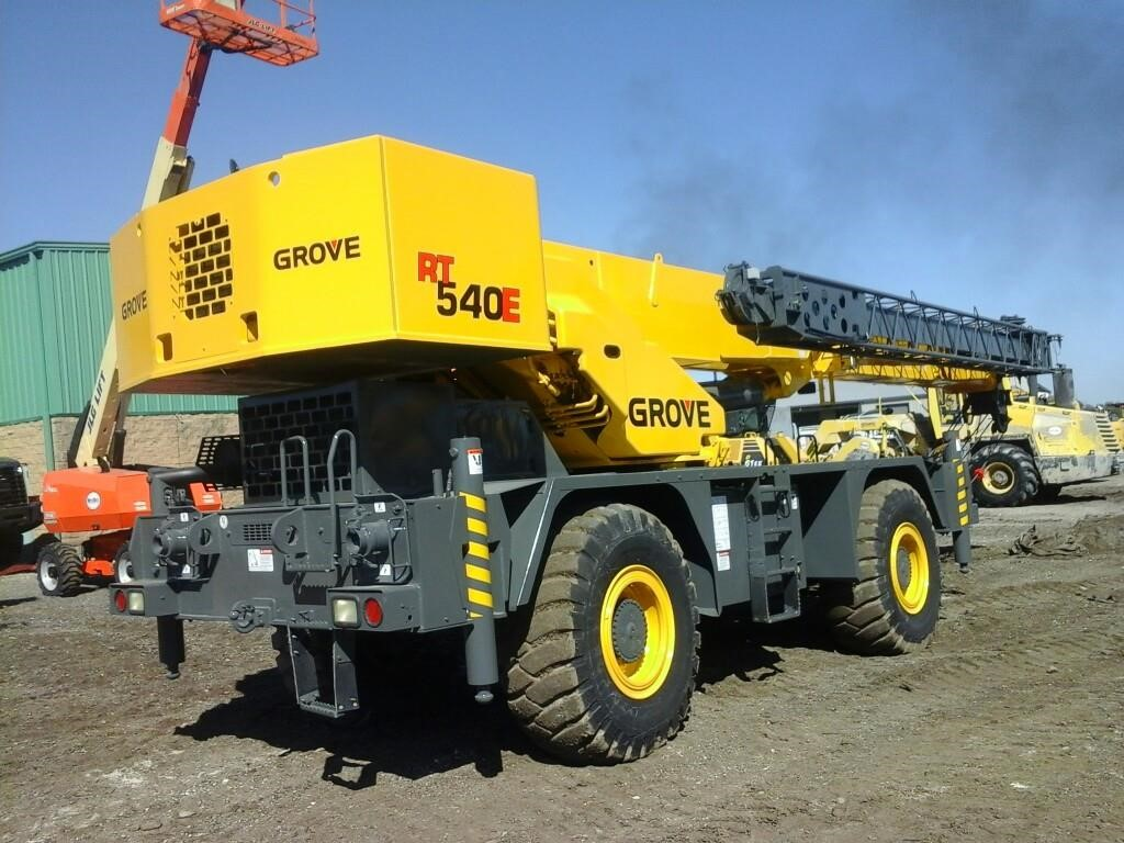 Detail photo of 2007 Grove RT540E from Construction Equipment Guide
