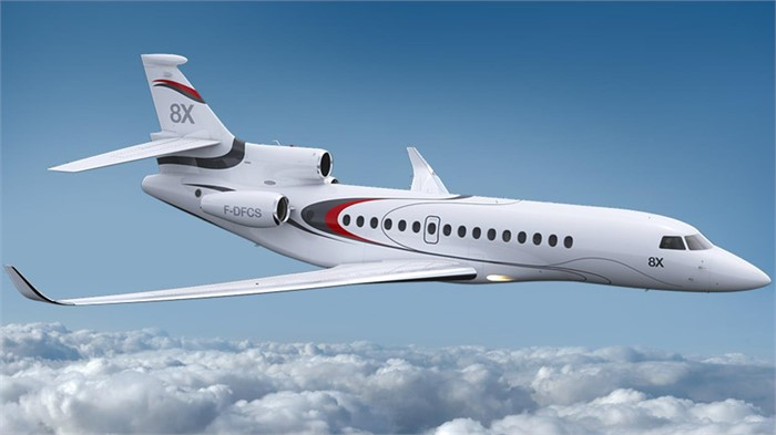 Dassault Aviation Brings Falcon 8X To Wings India