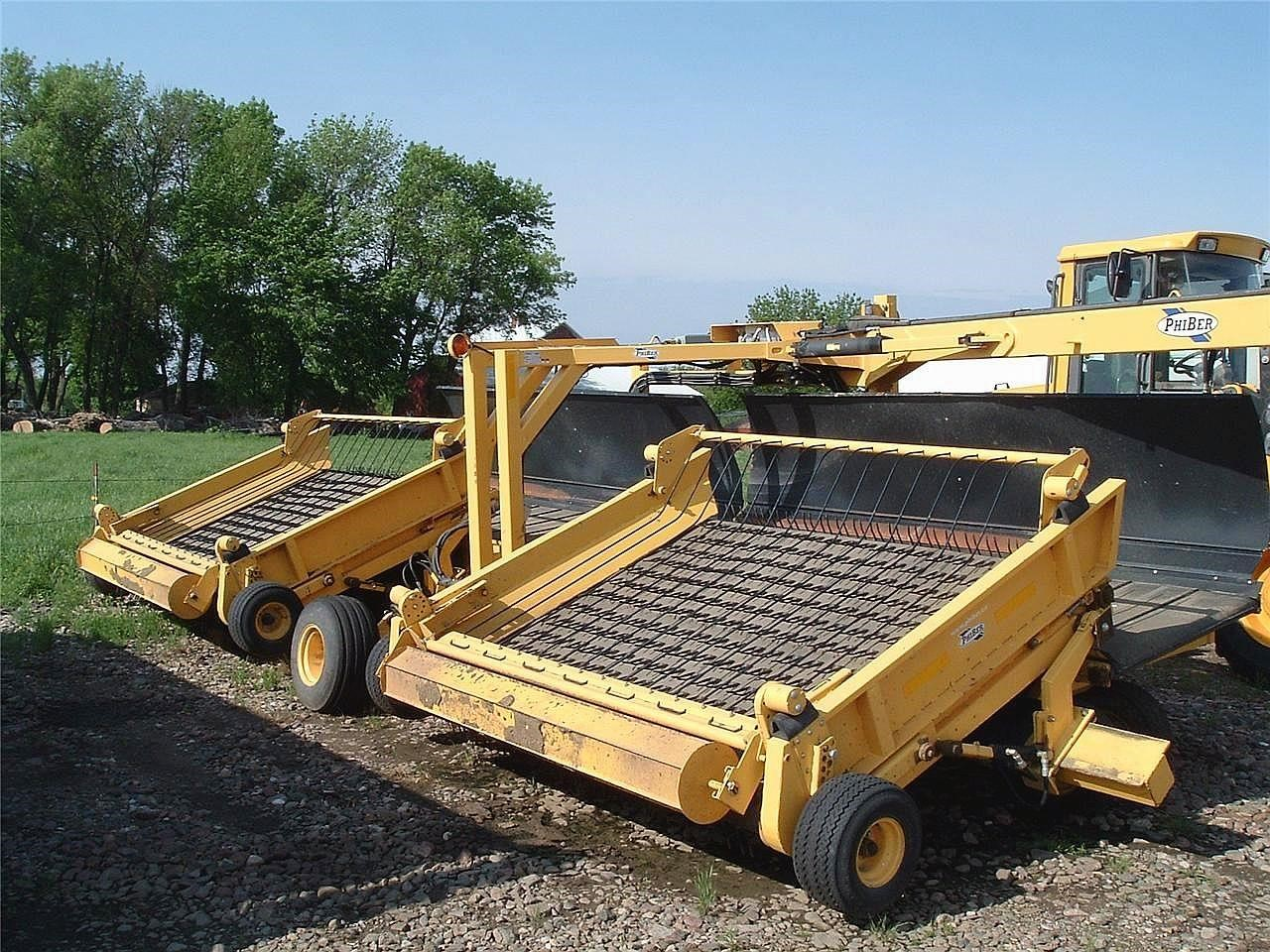 2010 PHIBER SM848 Windrow Inverter