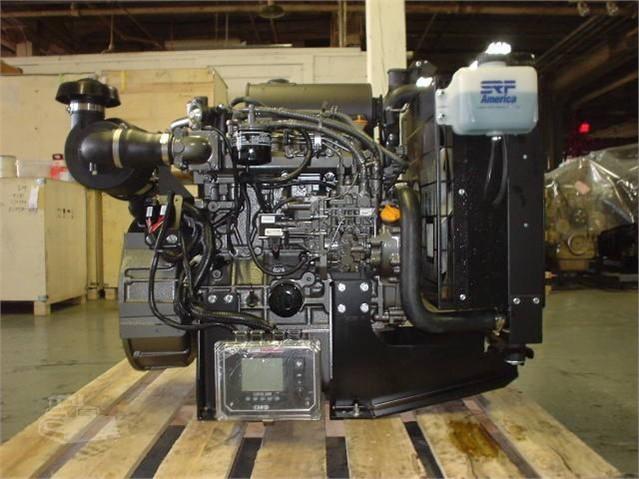 YANMAR 4TNV98-ZNSAD Engine on