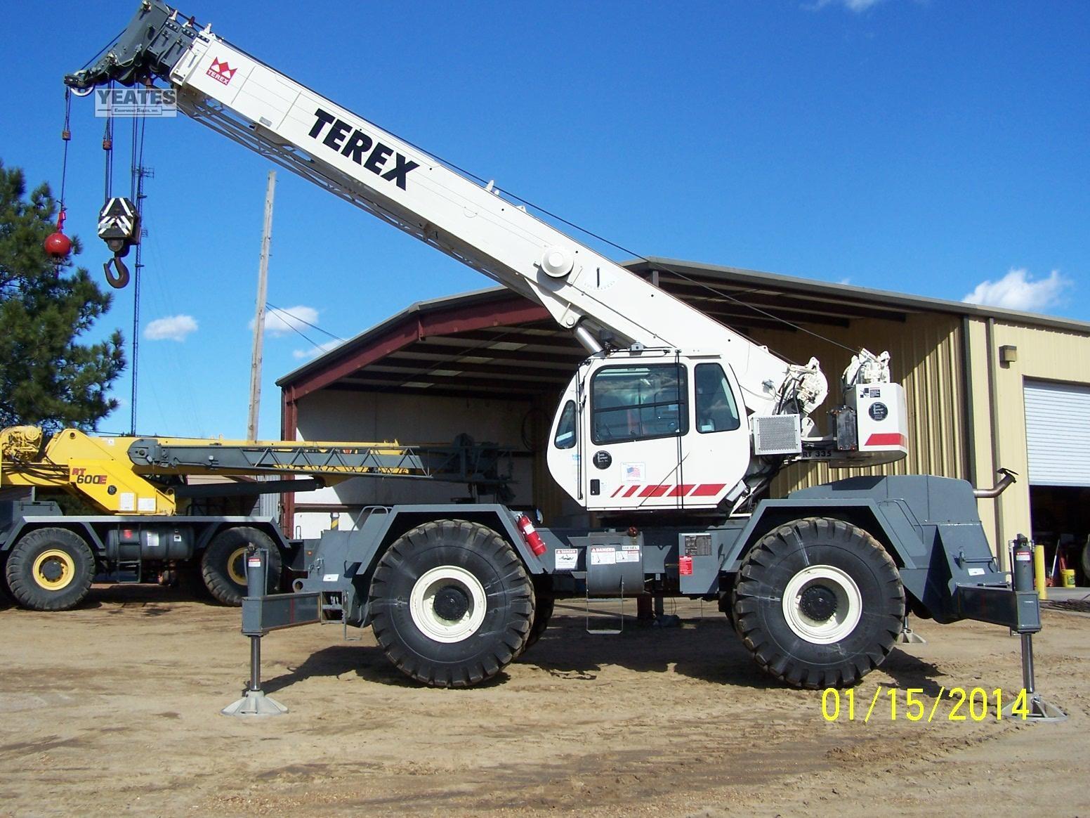 2005 TEREX RT335 For Sale in Byram, Mississippi