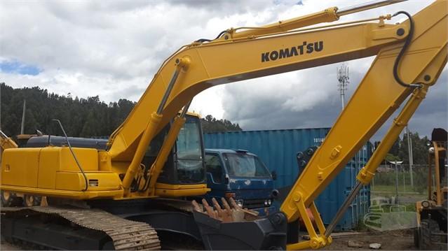 2001 KOMATSU PC200 LC-6LE | MachineryTrader com