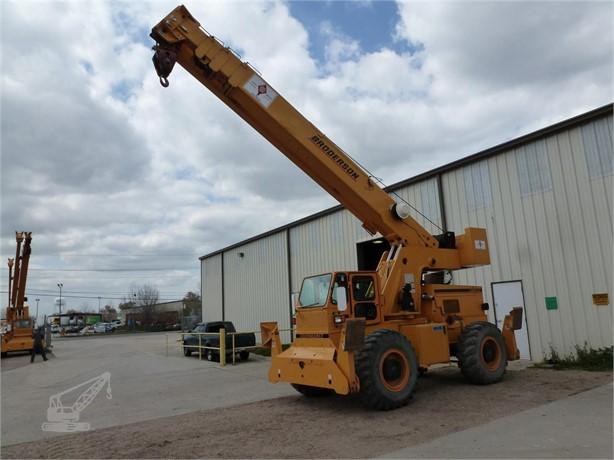 BRODERSON Rough Terrain Cranes For Sale - 15 Listings