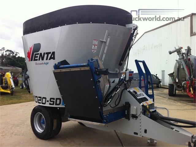 Penta 4020SD Feed/Mixer Wagon farm machinery for sale Valton