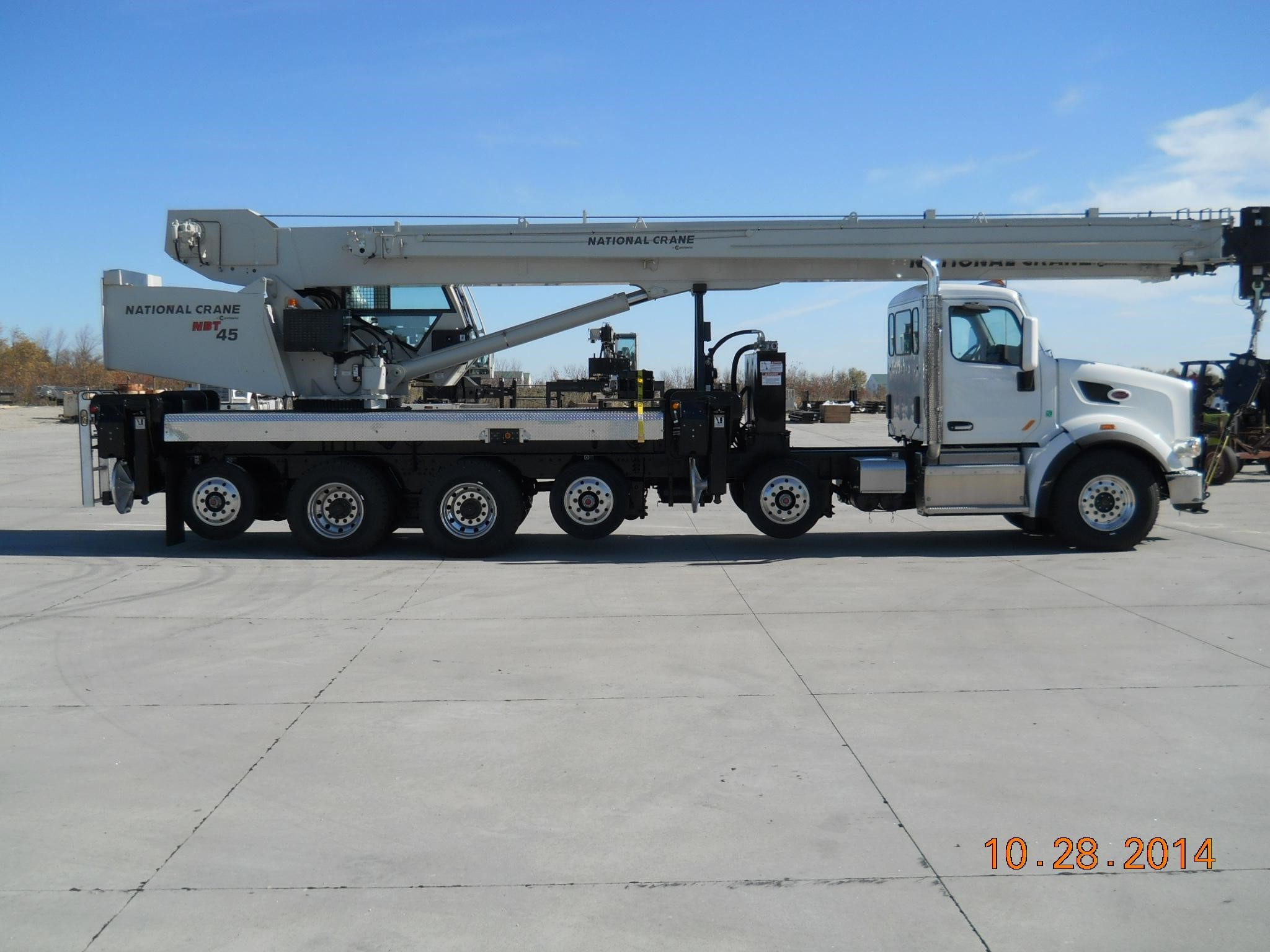 2015 NATIONAL NBT45 MOUNTED ON 2015 PETERBILT 567 For Sale in Minneapolis,  Minnesota