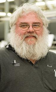 Dale Roach, Bindery Technician