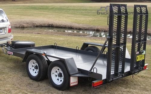 2018 Dean Tandem Plant Trailer - Truckworld.com.au - Trailers for Sale