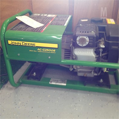 John Deere Ac G2500s Generator Other Items For Sale 1