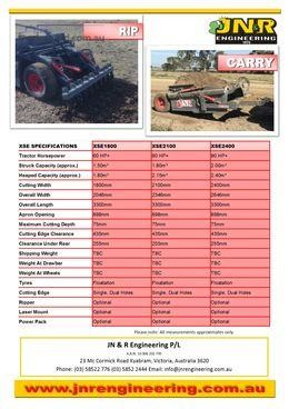 2015 Jnr XSE2400 - Truckworld.com.au - Heavy Machinery for Sale