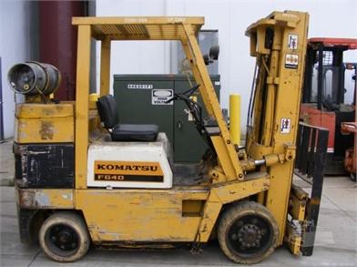 KOMATSU FG40 For Sale - 16 Listings | MachineryTrader.com ... on