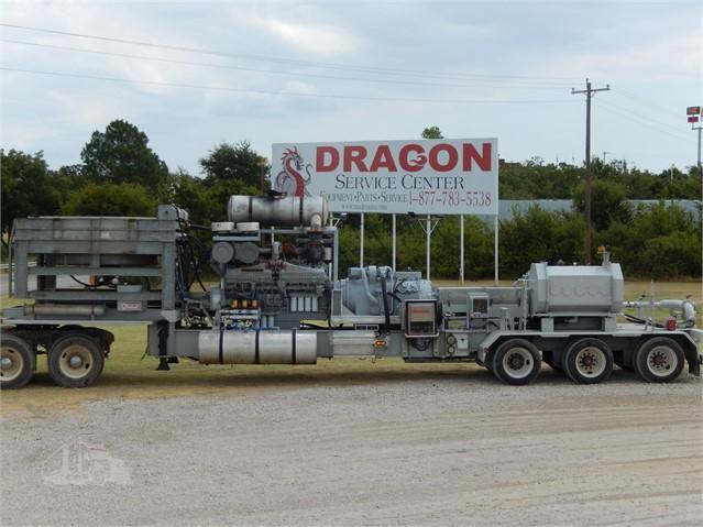 2009 DRAGON Mobile Frac Pump 2250 HP For Sale In Alvarado