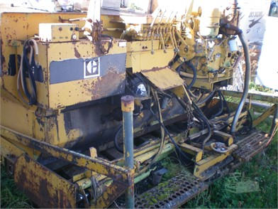 Used Asphalt / Pavers / Concrete Equipment For Sale By