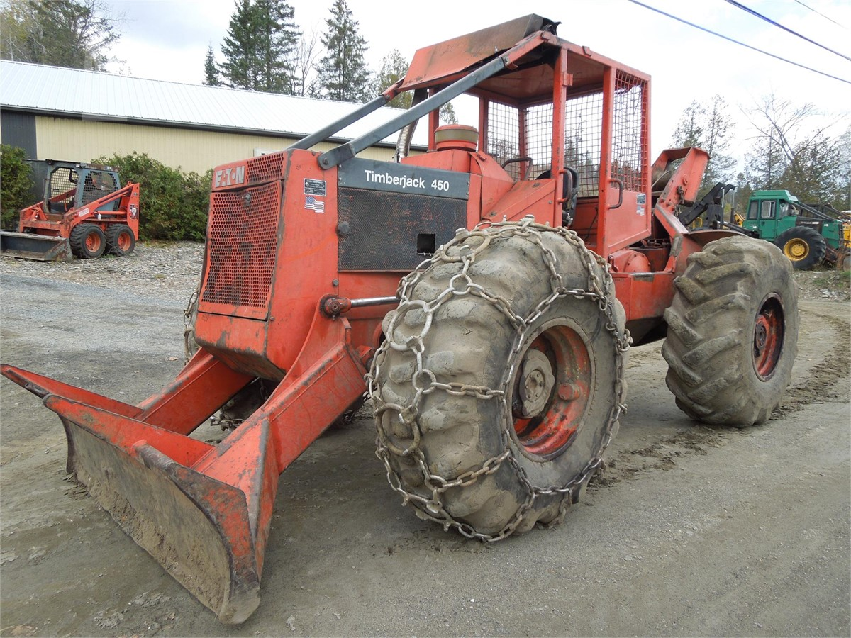 1978 TIMBERJACK 450 For Sale In Colebrook, New Hampshire