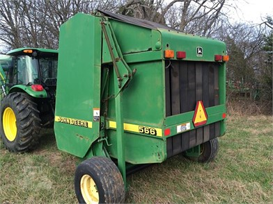 John Deere Round Balers For Sale In Eagleville, Tennessee