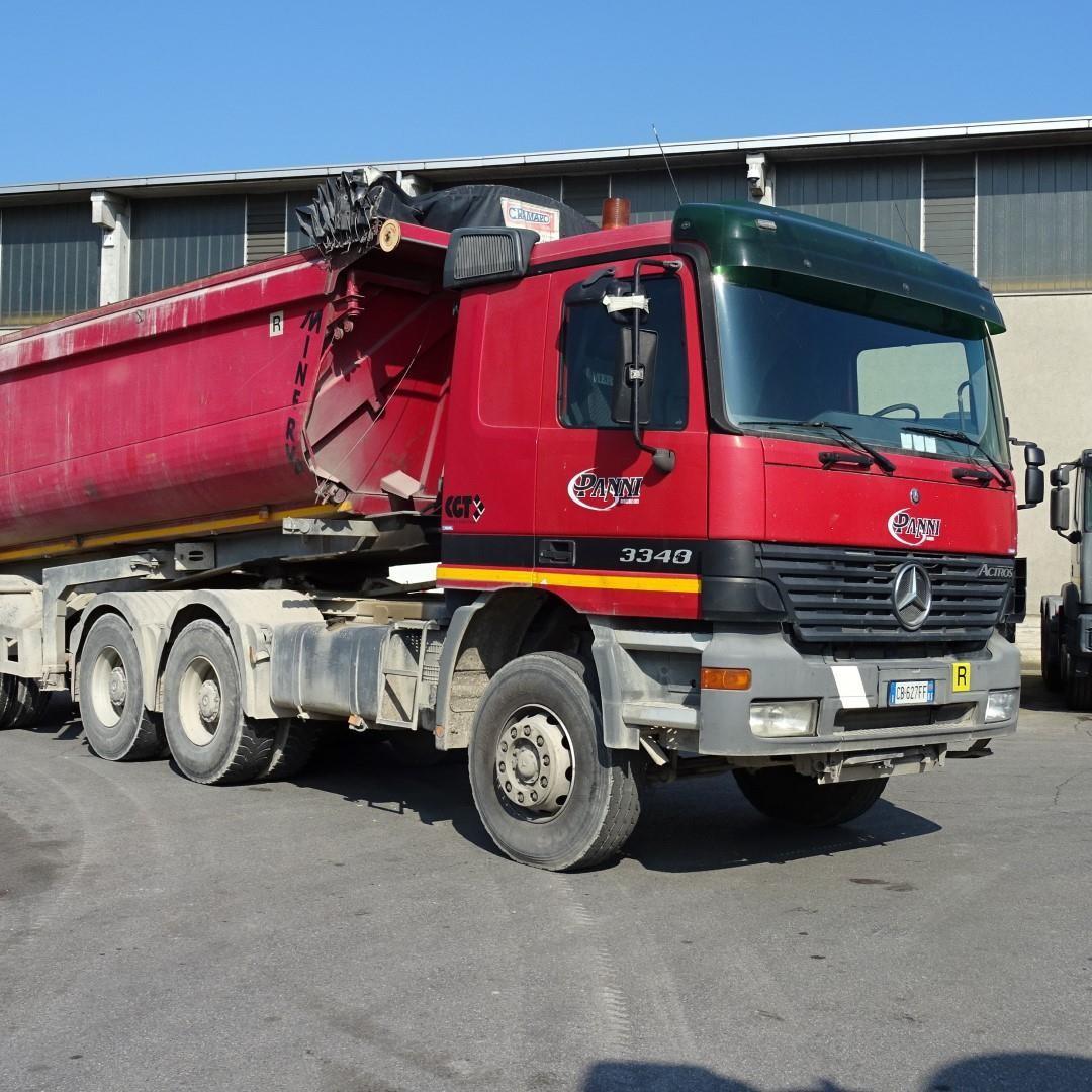 Mercedes-Benz ACTROS 3348