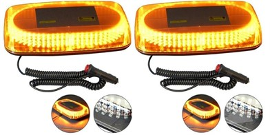 CWS Qnty 2 X Magnetic Strobe Led Light 12V Sl240 Auction