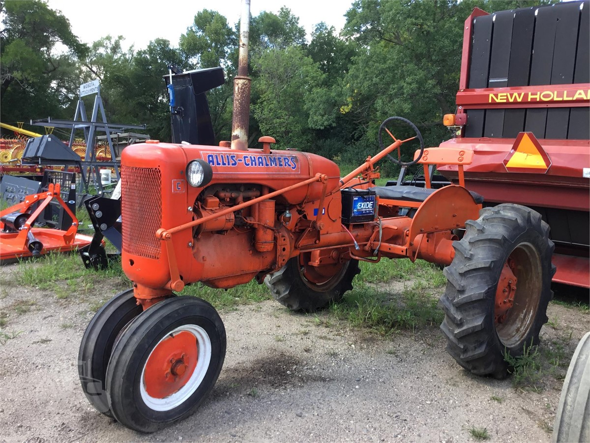1945 ALLIS-CHALMERS C For Sale In Paynesville, Minnesota