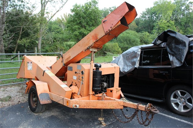 asplundh wood chippers logging equipment auction results - 6     on