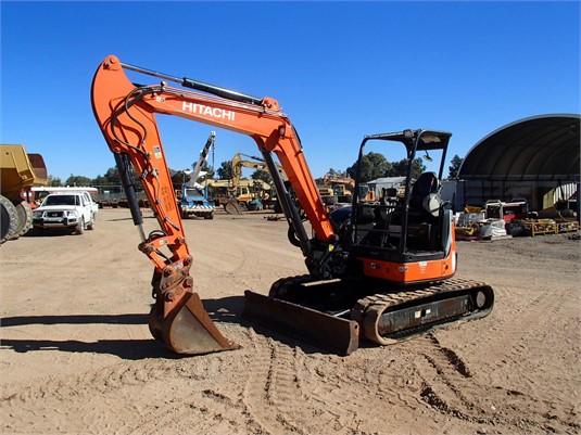 2012 Hitachi ZX50U-3F - Heavy Machinery for Sale