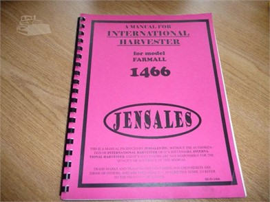 IH / FARMALL Other Items For Sale - 1 Listings