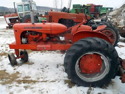 TractorHouse com | ALLIS-CHALMERS WD45 Dismantled Machines