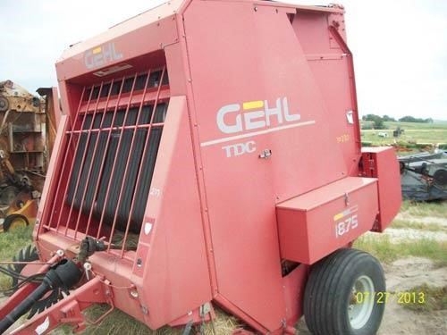 TractorHouse com | GEHL 1875 Dismantled Machines