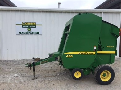 JOHN DEERE Round Balers Online Auction Results - 636