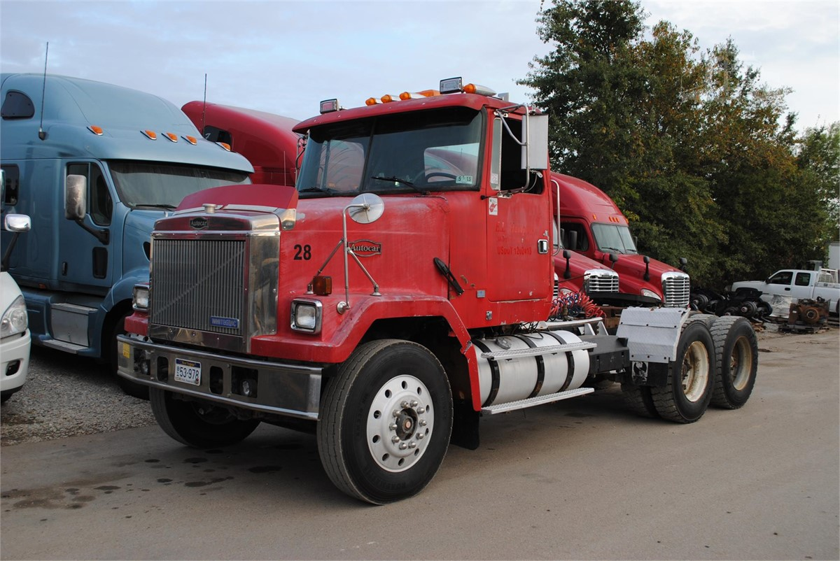 Flatbed Tow Truck >> 1994 AUTOCAR ACL64F For Sale In Covington, Tennessee | www ...